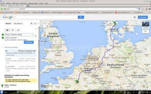 1200 km entre Massy et Aarhus