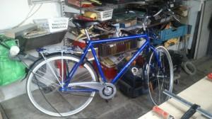 Mon vélo danois, acheté 600 DKK (soit ~ 80 €)